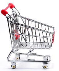 A Shopping Cart Trolley
